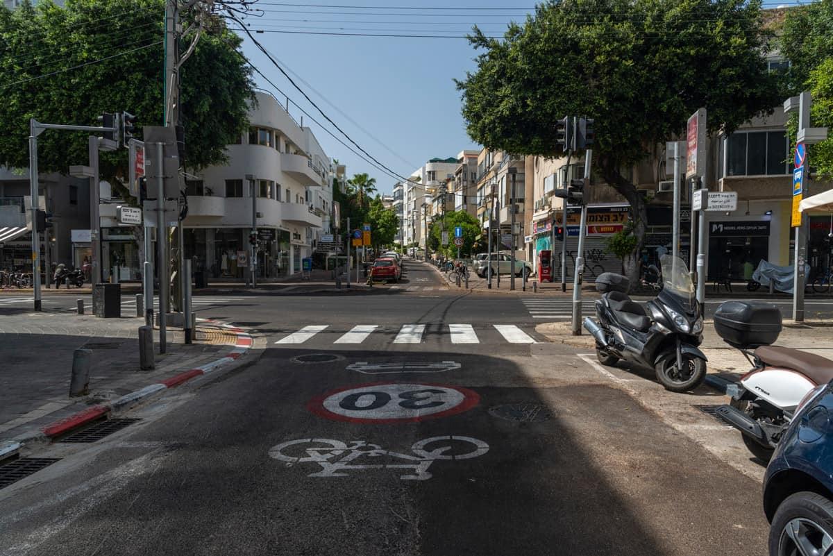 רחוב ריק ביום כיפור