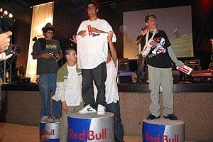 הזוכים המאושרים Red Bull Street Dogs 2005